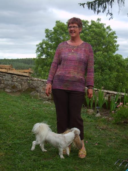 Claudine aubert bonnafoux 61 ans domerat maisons for College domerat